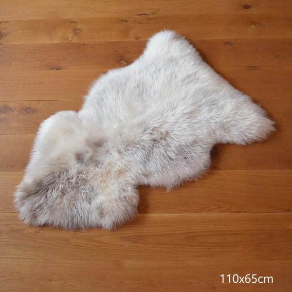 Naturbuntes Lammfell 110 - 120 cm