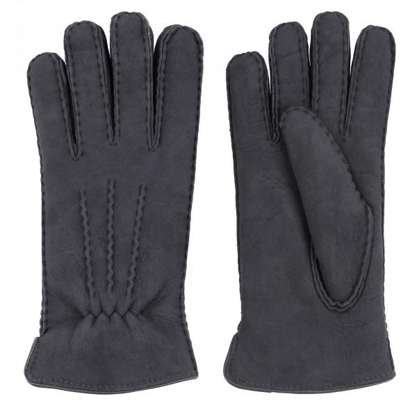 Herren Fingerhandschuhe aus Lammfell Luxus