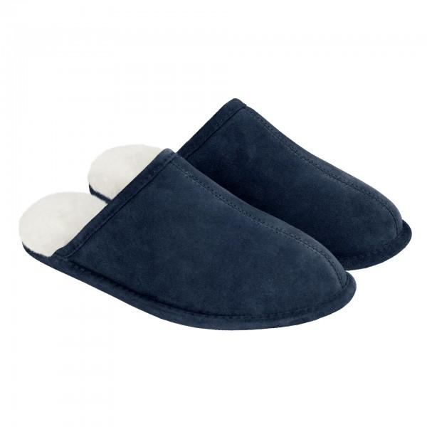 Pantoffeln Luxus Ledersohle