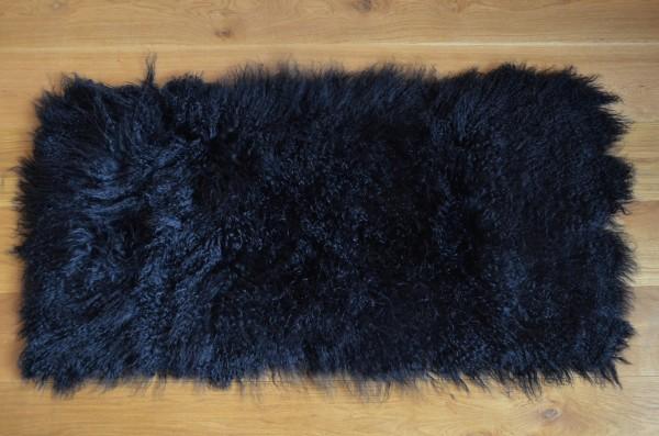 Tibetlammfell schwarz